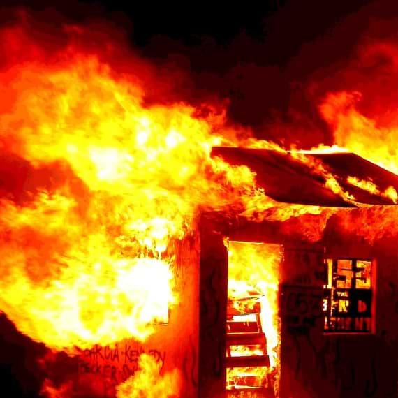 Siddhartas Leiden im brennenden Haus
