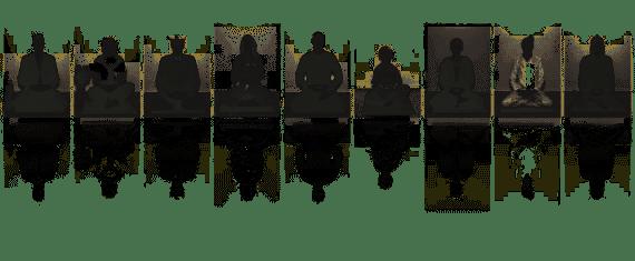 Kanzeon Sangha Mitglieder   Bewegtes Leben - Ruhiger Geist